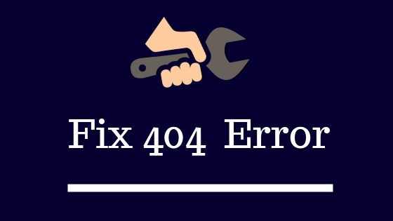 How To Fix 404 Errors In Webmaster Tool [wordPress website] image