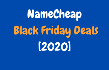 NameCheap Black Friday Deals 2020: Get Up to 99% Discount till Cyber Monday image