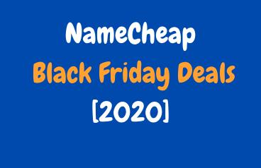 NameCheap Black Friday Deals 2021: Get Up to 99% Discount till Cyber Monday image