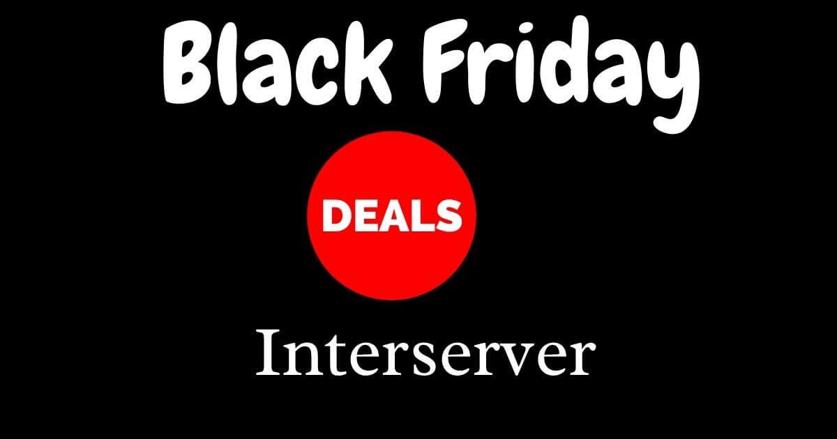 Interserver Black Friday Deals 2021-GET 50% OFF Discount Offer On Sale till Cyber Monday !!! image